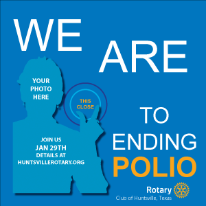 We are THIS close to ending polio.
