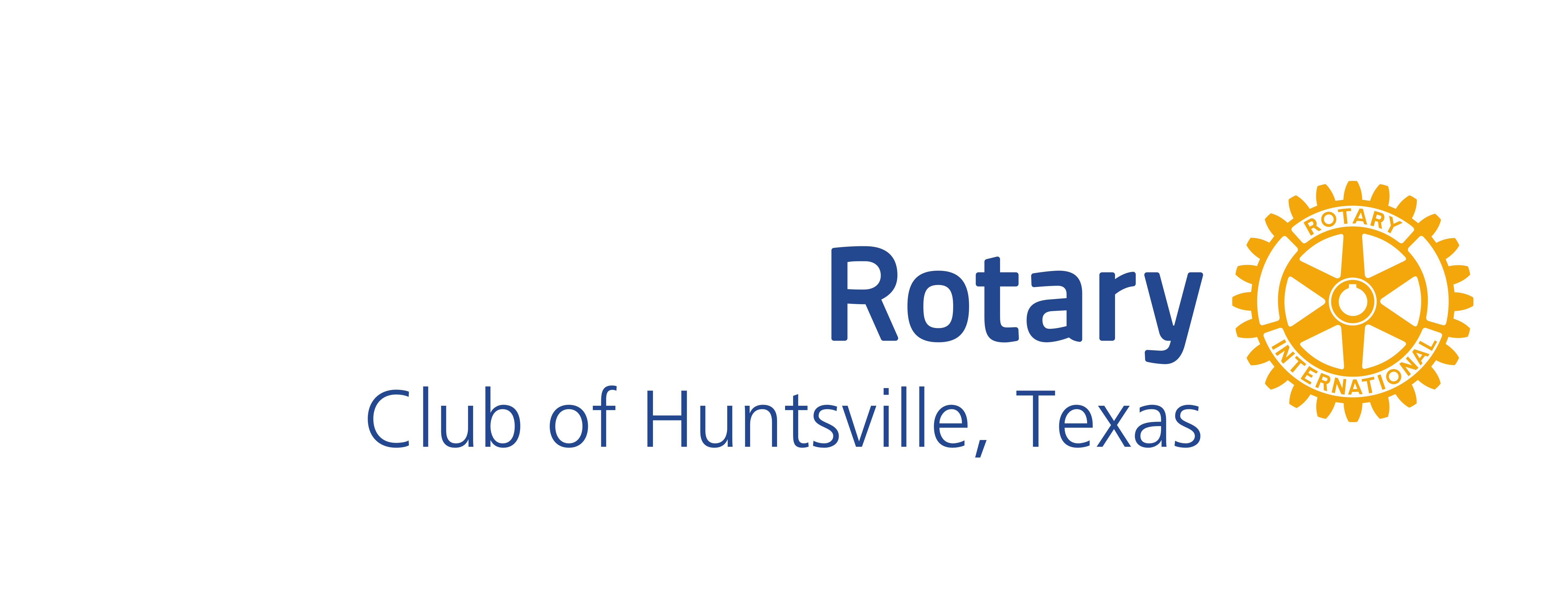 Rotary Club of Huntsville Texas Logo